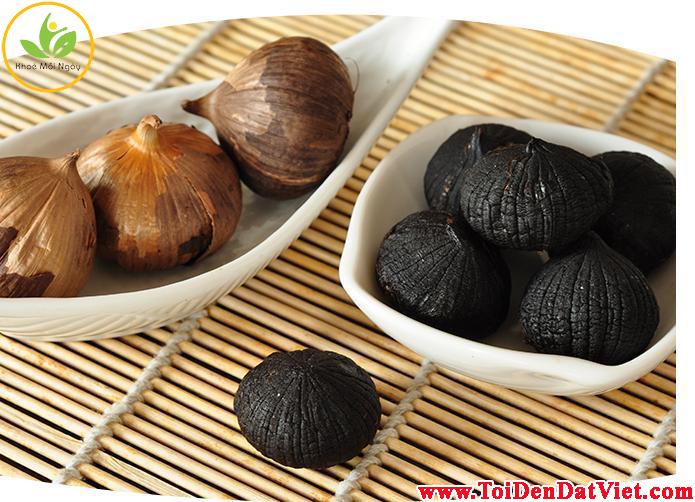 công dụng của tỏi đen Đất Việt